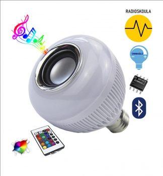 Λάμπα LED Με Bluetooth Ηχείο